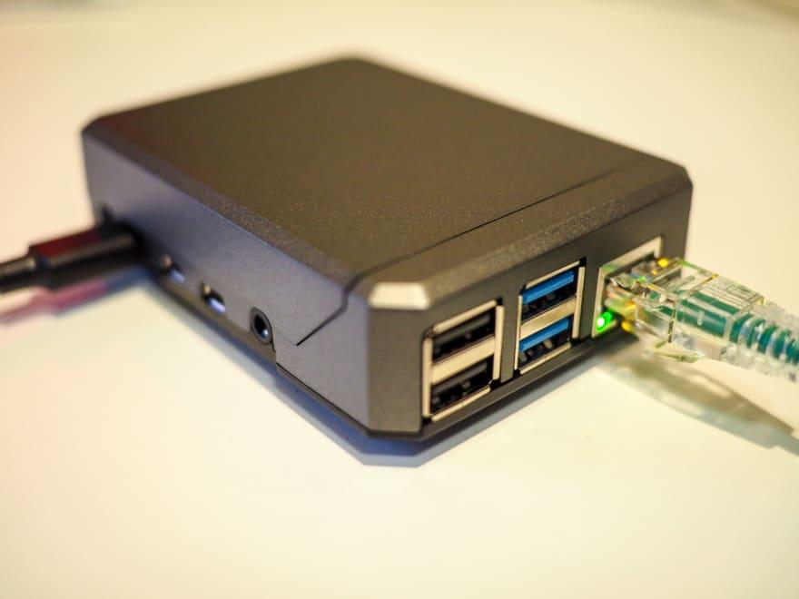 Raspberry Pi 4 with Argon NEO Case