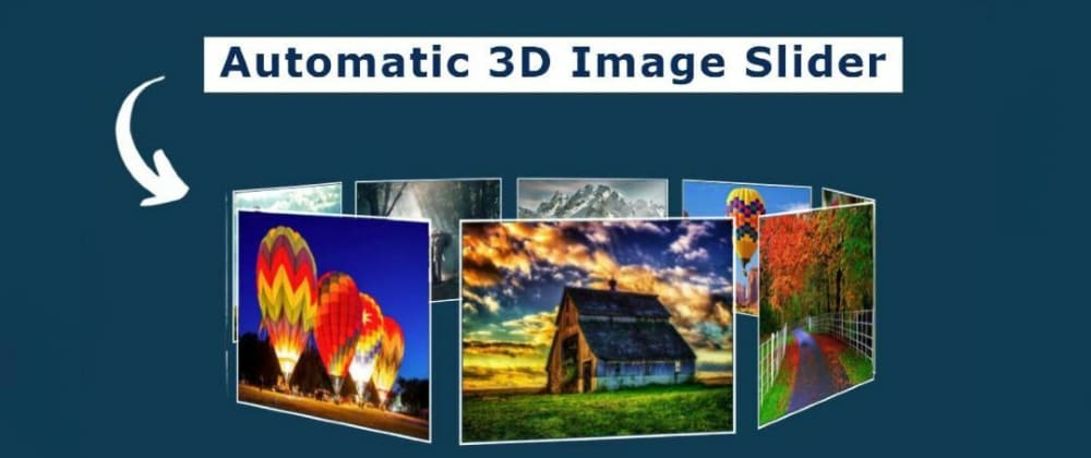 Cover image for Automatic Image Slideshow using HTML & CSS