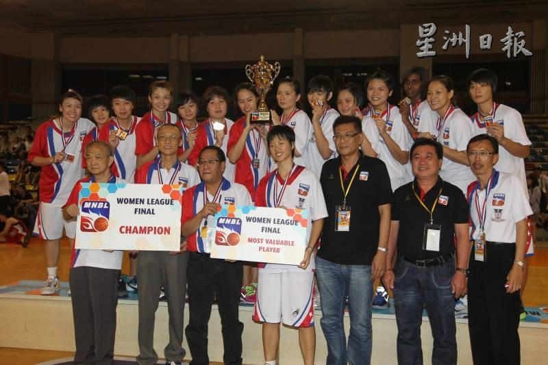 Winning the MVP award for the 2012 MNBL Finals