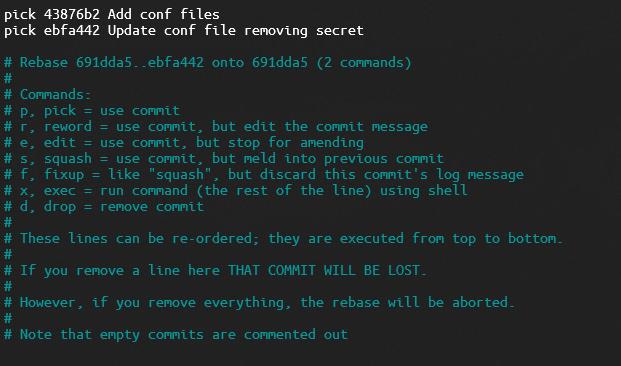 rebase editor example