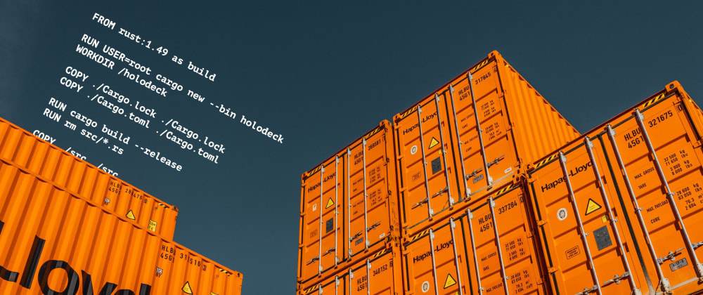 Cover image for First steps with Docker + Rust