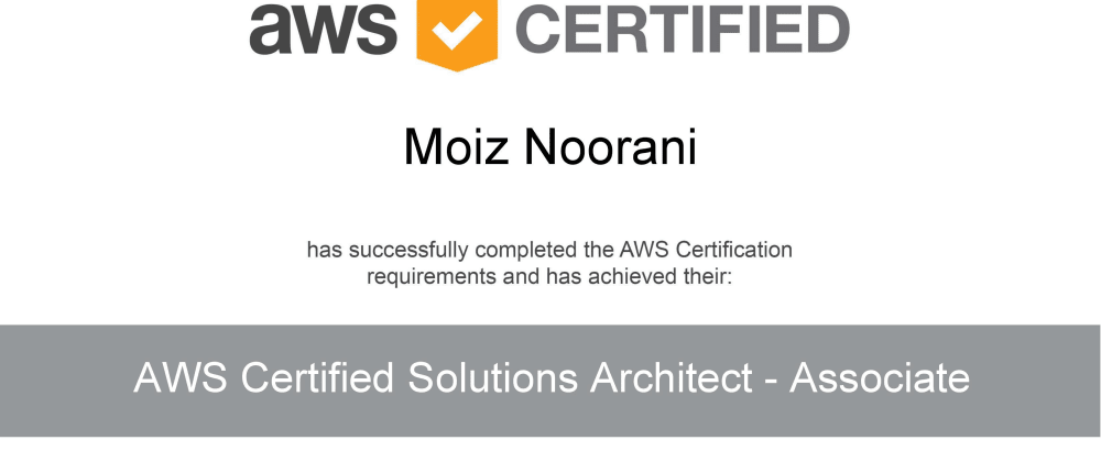 Cover image for From Zero to AWS Certified in 2 Months!
