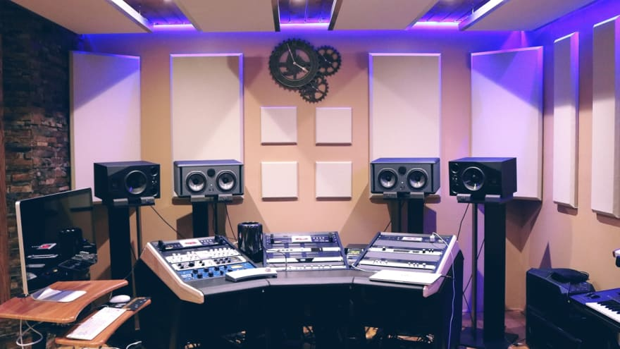 Real recording studio