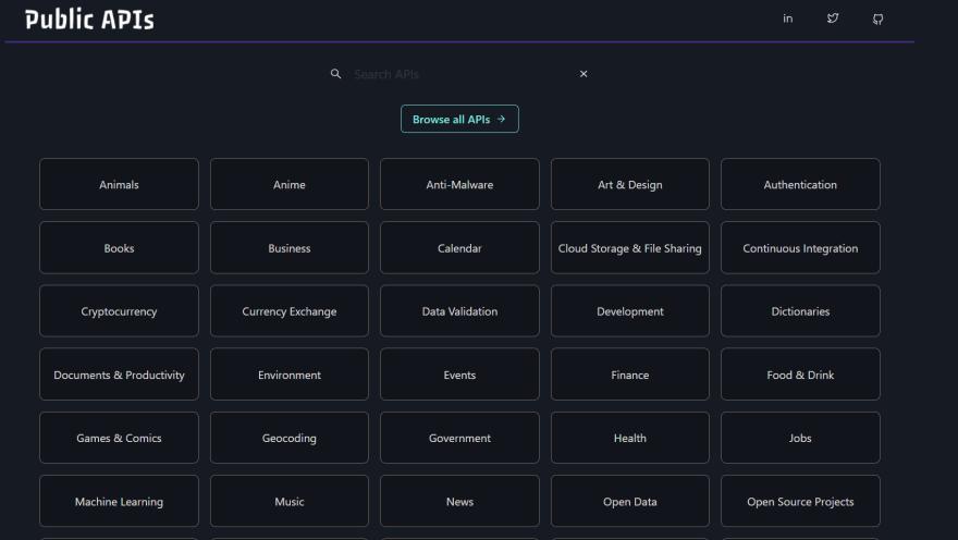 Free APIs