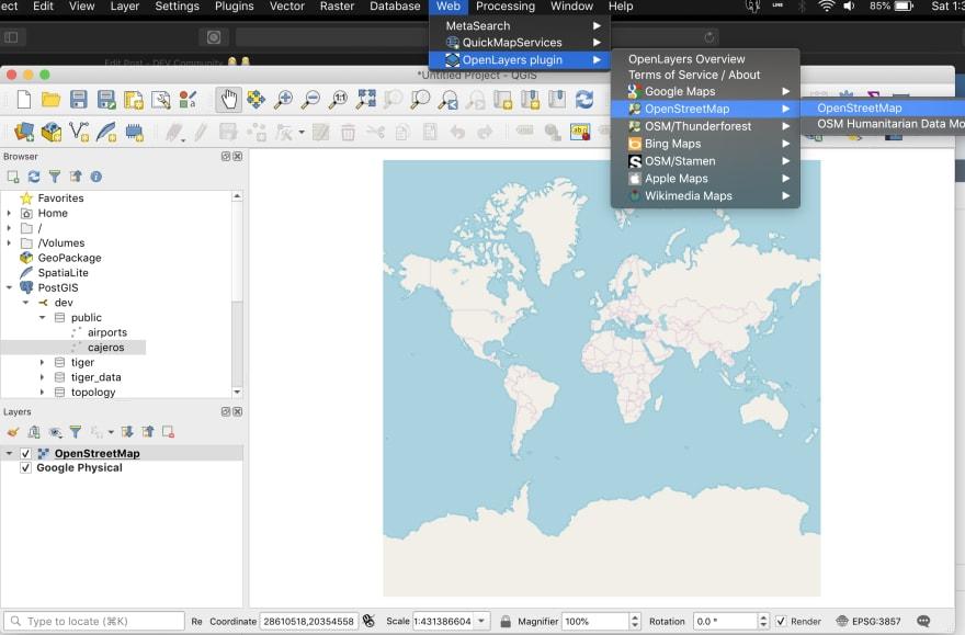 Openstreetmap Docker