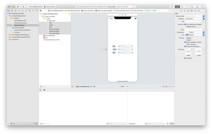 Alignment tools in Xcode