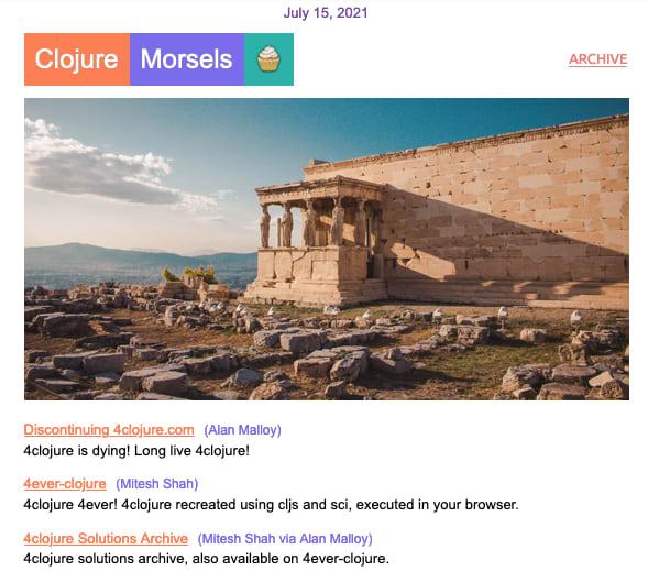 New edition of Clojure Morsels