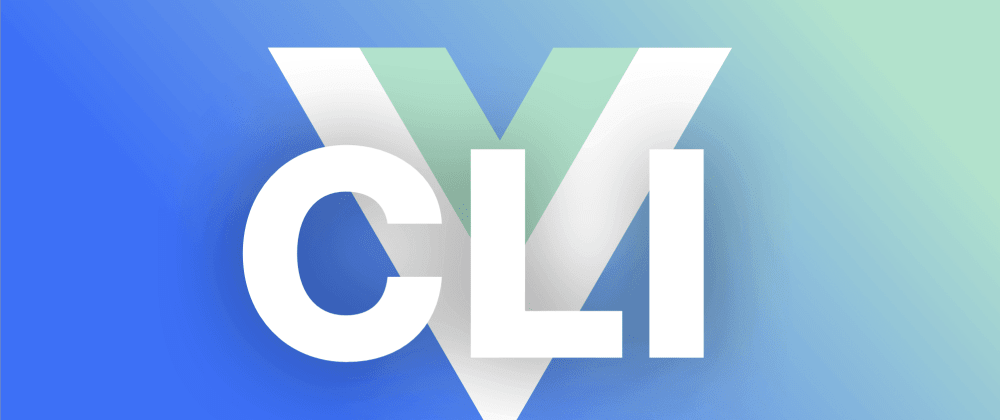 Cover image for All about the Vue CLI