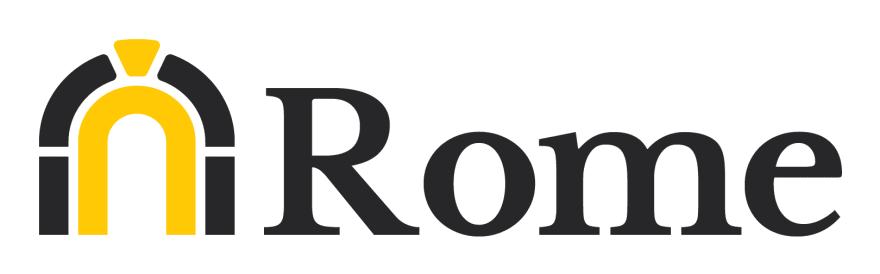 Rome, logo of an ancient Greek spartan helmet