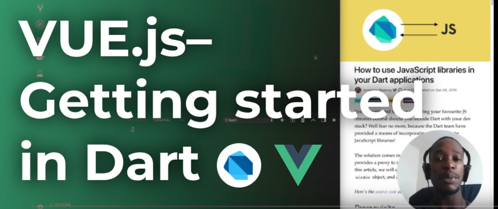 Cover image for Vue.js–Getting started in Dart (Part 1)
