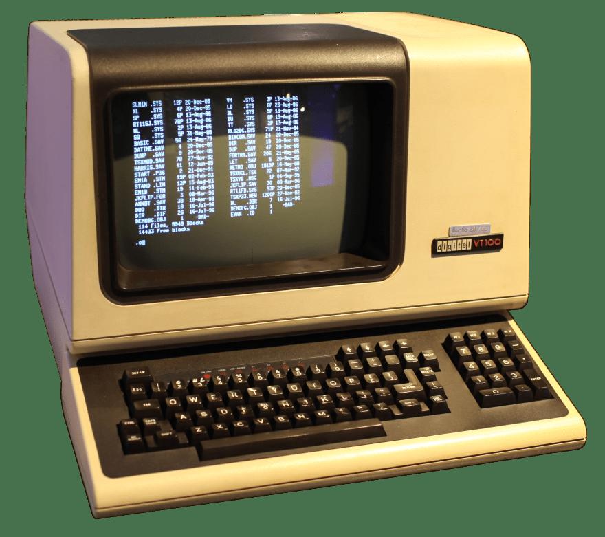A DEC VT100
