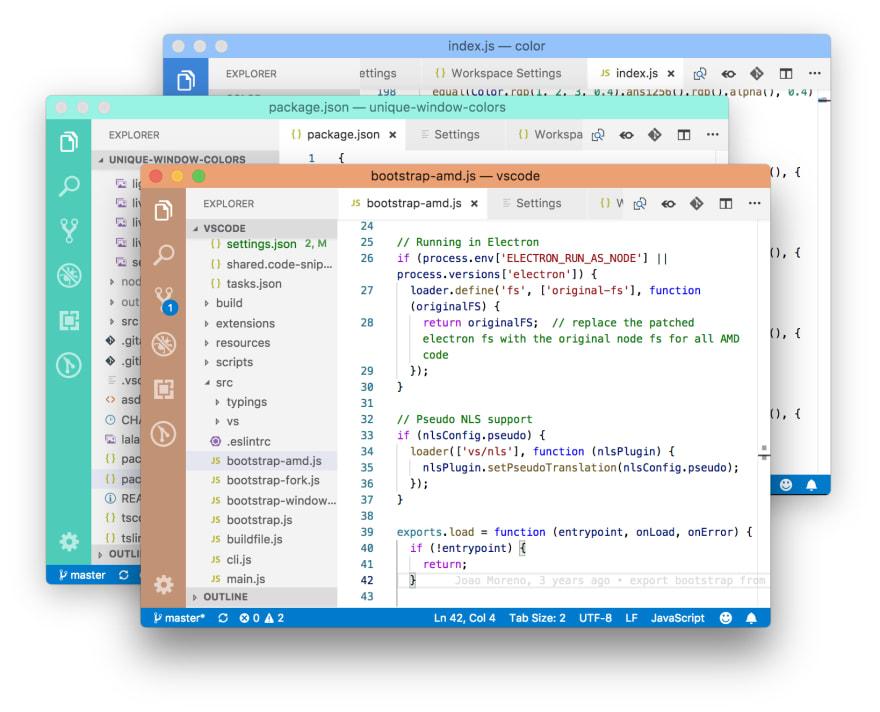 Window Colors screenshot