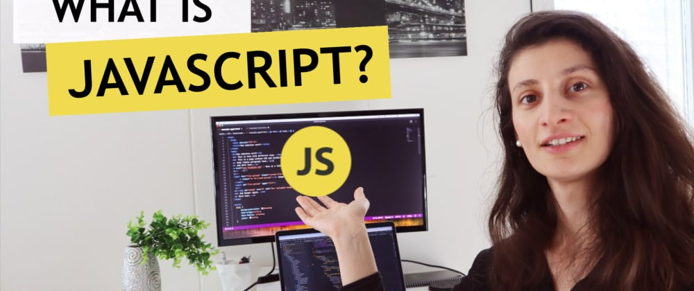 Cover image for What is JavaScript? 🤔