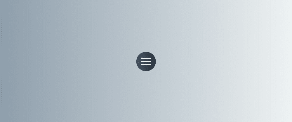 Cover image for Easy micro-interactions in CSS (Pt1): Hamburger menu icons