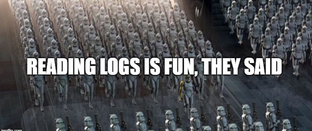 Cover image for NodeJS logging made right