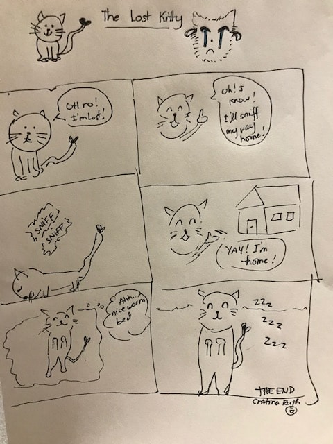 The Lost Kitty Comic