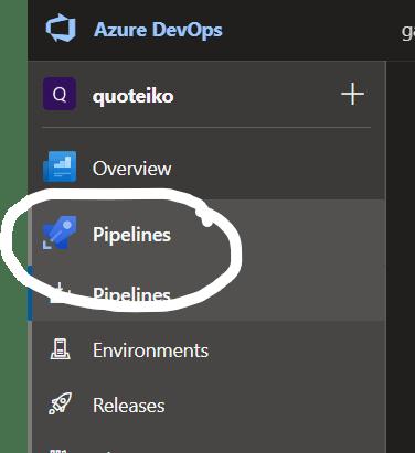 Pipelines Option