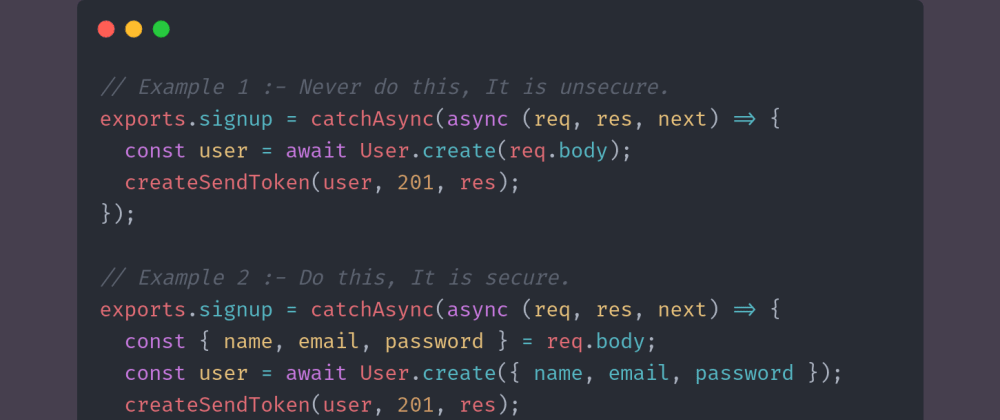 Cover image for Day 9 of #30DaysOfCode | Little trick to make API secure