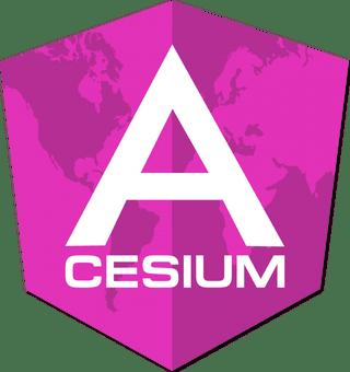 Angular-Cesium logo