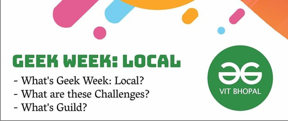 Cover image for geek week local