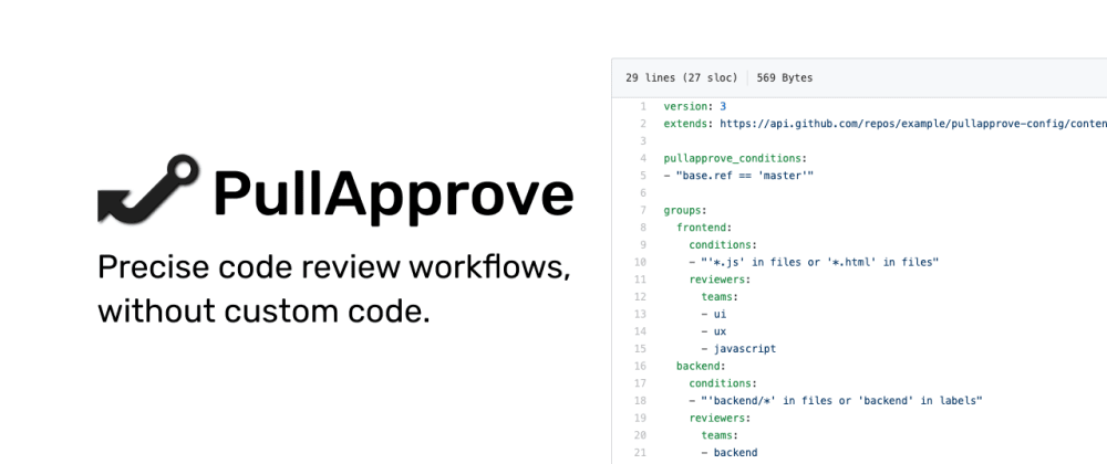 Cover image for GitHub code review assignment with PullApprove