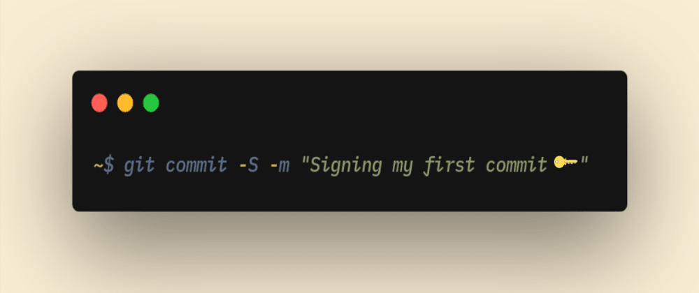 Cover image for GPG-signing your Git commits