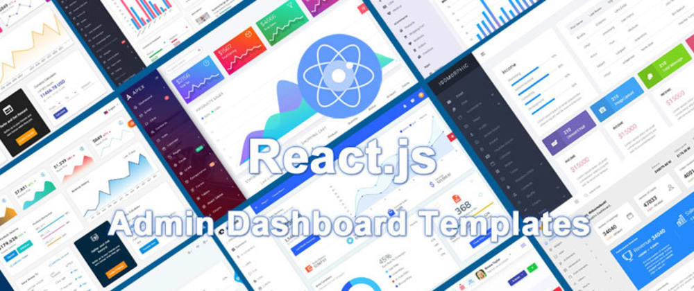 Cover image for 28 Best React.js Admin Dashboard Templates