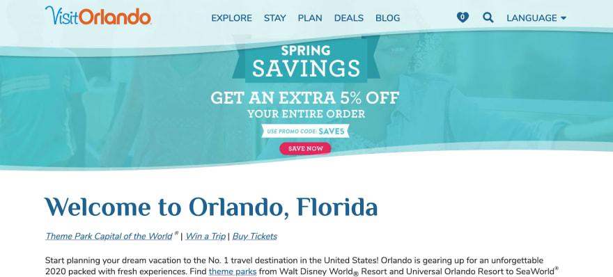 How Visit Orlando uses a Headless CMS