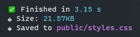 small file size