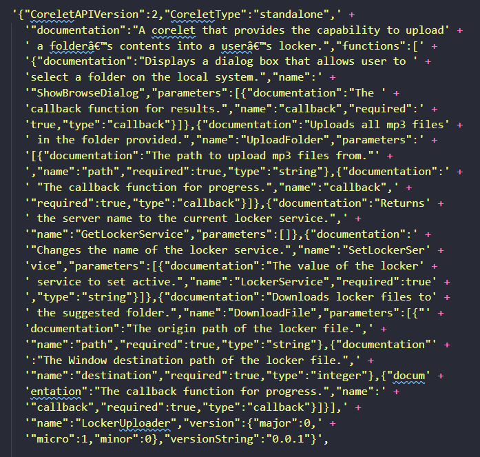 terrifying json