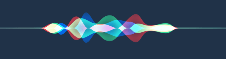 Original Siri iOS 9+ wave-form