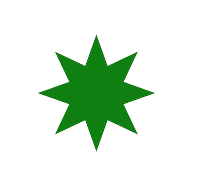 Star with scaled radius