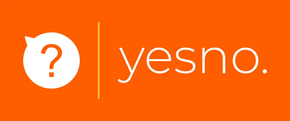 Cover image for I built yesno.