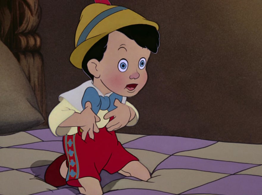 Pinocchio is a real boy