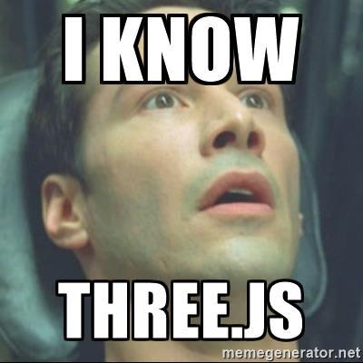 i know three js