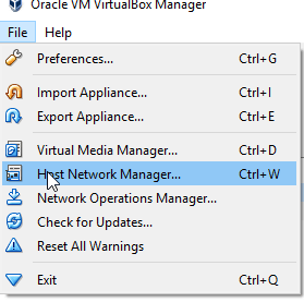 How to set host-only adapter on VM (Virtual box) - DEV
