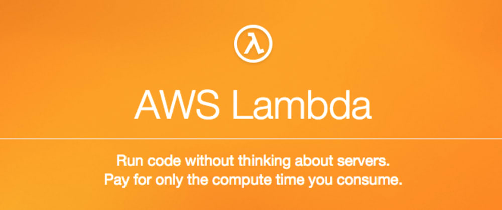 Cover image for Create an AWS Lambda function from scratch
