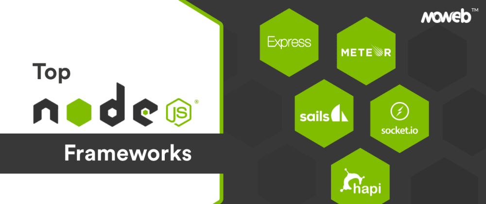 Cover image for 5 Best Node.js Frameworks of 2021