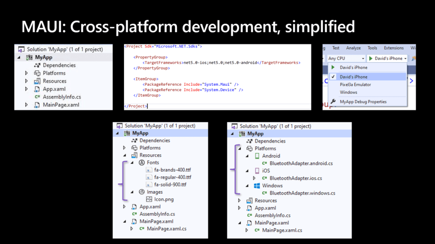 MAUI: Cross-platform development, Simplified