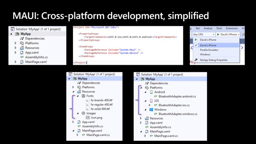 MAUI: Cross-platform development, Simplified