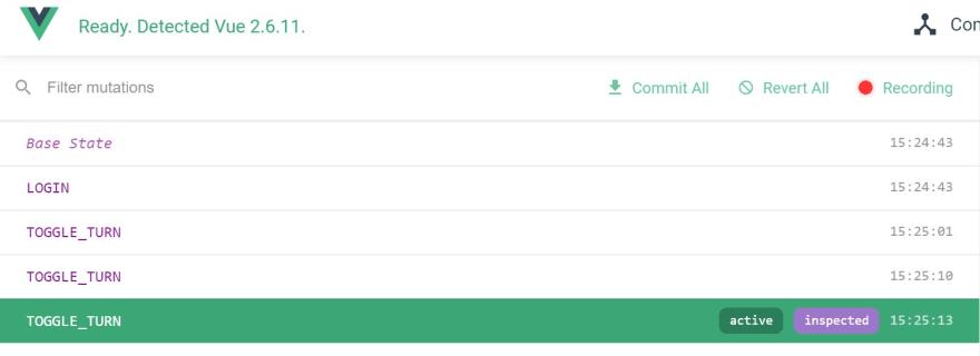 Vuex DevTool Browser Environment