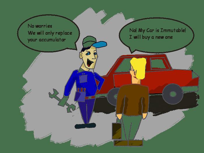 Immutable car