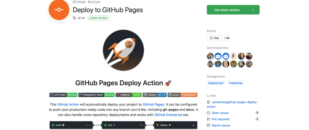 Cover image for Creating vite vue ts template: Deploy to Github Pages with Github Actions