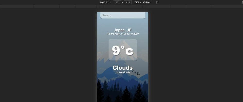 Cover image for How to make a weather app in React using openweather api