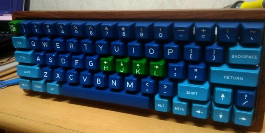 vim cursor keys