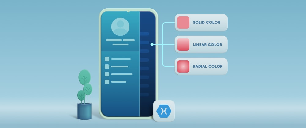 Cover image for New Features in Xamarin.Forms 4.8: Gradients, Brushes, and Flyout Backdrop Color