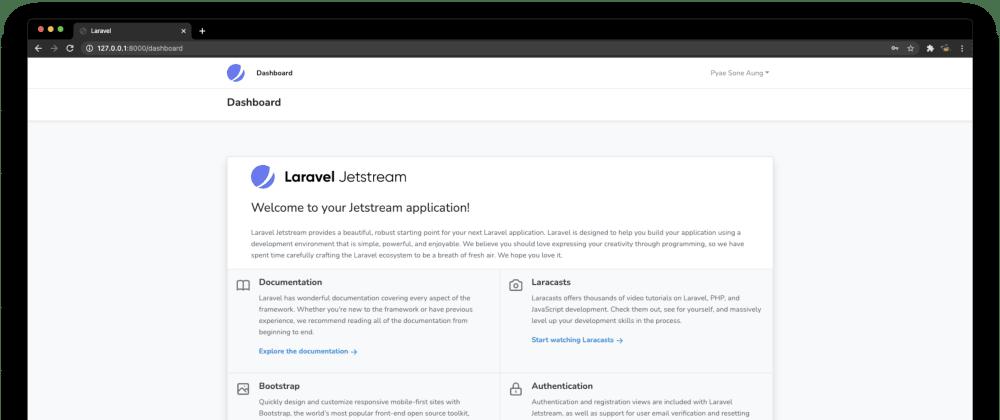 Cover image for Laravel Jetstream ကို Bootstrap နဲ့ တွဲသုံးမယ်။
