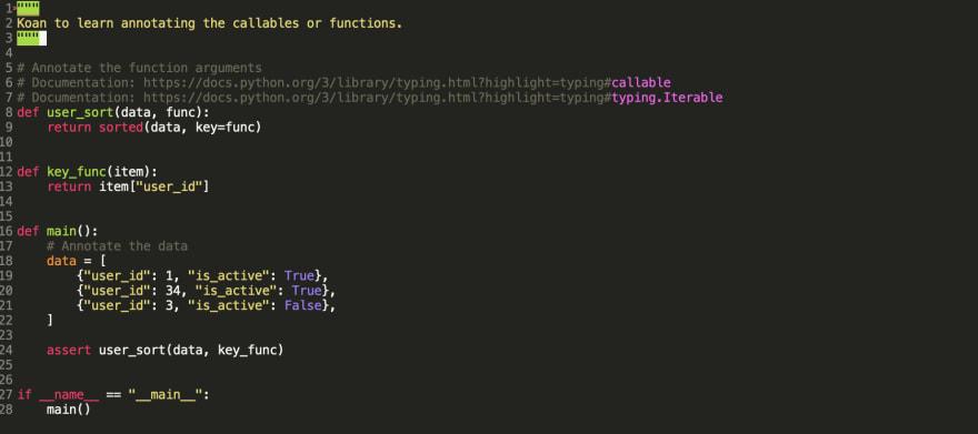 Python Callables