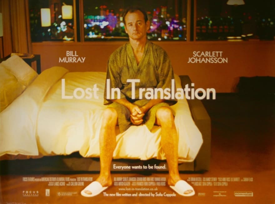 lost in translation cover