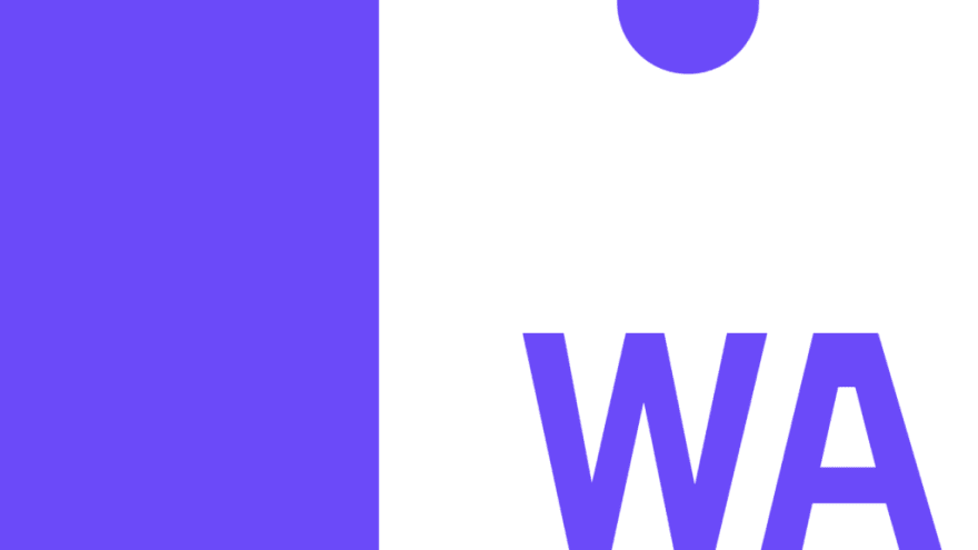 The logo for Web Assembly (WASM), a front-end